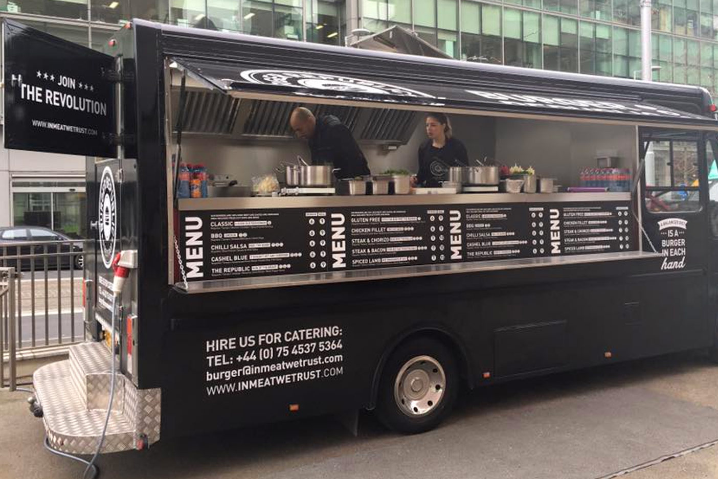 Food Truck Belfast Food Trucks To Hire For Events